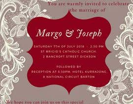 #6 for make wedding invites for text message af crisangi95