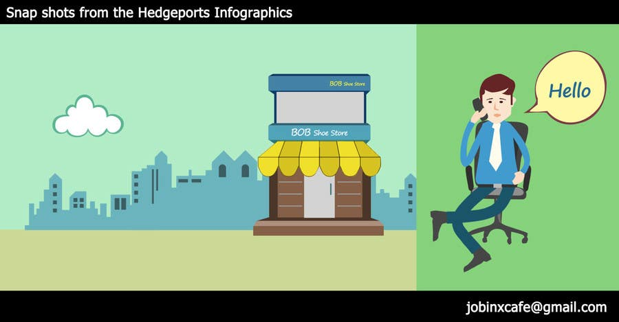 Infographic animation freelance