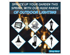 #18 for Design a Banner To Advertise Outdoor Lighting by baten1717