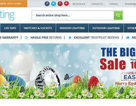 #43 for Set of Banners Needed to Promote Huge Easter Sale by satishandsurabhi