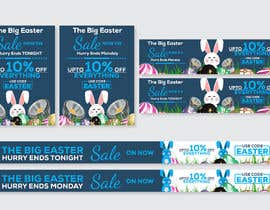 #40 for Set of Banners Needed to Promote Huge Easter Sale by owlionz786