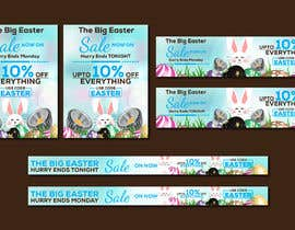 #46 for Set of Banners Needed to Promote Huge Easter Sale by owlionz786