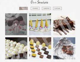 #5 for Design a website for a Chocolate Factory (Homepage only, PSD) by leaathira