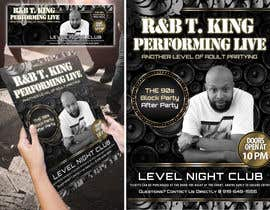#14 for Event Flyer and matching Facebook Banner Needed for R&B/Hip Hop Artist/Singer by Attebasile