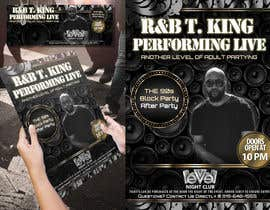#21 for Event Flyer and matching Facebook Banner Needed for R&B/Hip Hop Artist/Singer by Attebasile