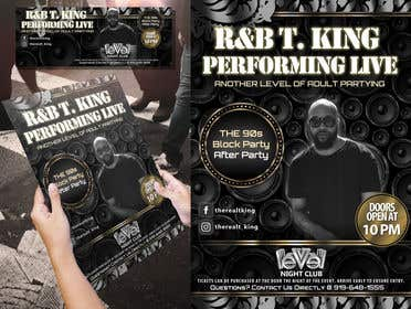 Image of                             Event Flyer and matching Faceboo...