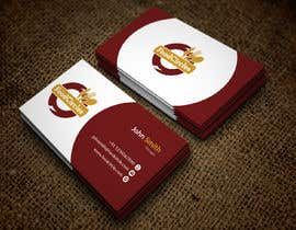 #11 для Business Card for Restaurant от japroj