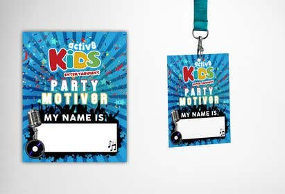 Image of                             Design a Name Badge to go onto L...