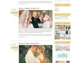 #3 para Design a Website Mockup for Event Planner Blog por webidea12