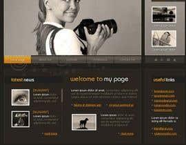 #16 para Design a Website Mockup for Event Planner Blog por Udovas