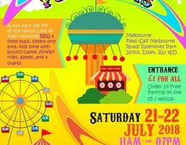 #12 dla Design a flyer for an annual funfair przez d3stin