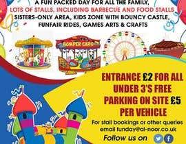 #5 dla Design a flyer for an annual funfair przez maidang34