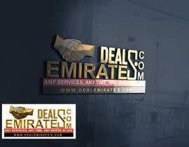#51 for BEST 3D LOGO AND NAME FONT FOR MY COMPANY  DEAL EMIRATES.COM by ovaisahmed4