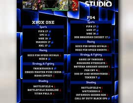 #45 , Design a menu card for Game studio 来自 jasonprince345