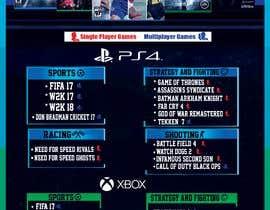 #35 , Design a menu card for Game studio 来自 emanadel96