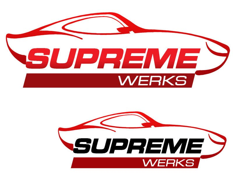 Contest Entry #97 for Logo Design for Supreme Werks (eCommerce Automotive Store)