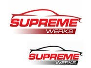 Graphic Design Contest Entry #134 for Logo Design for Supreme Werks (eCommerce Automotive Store)