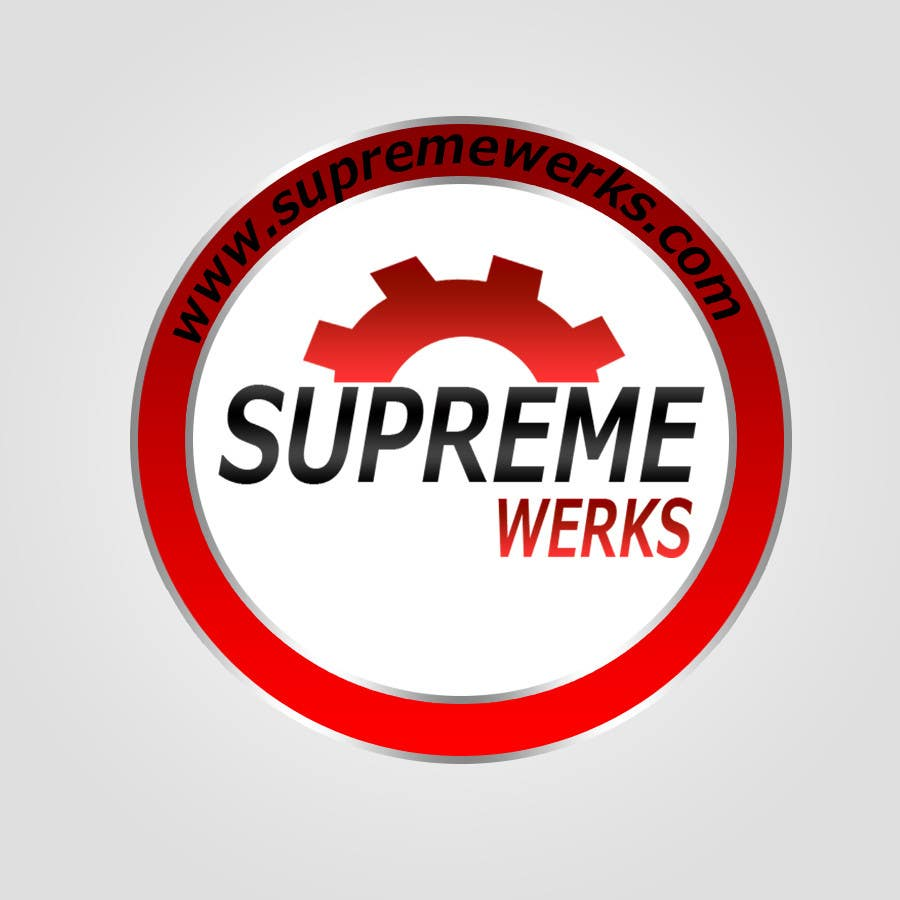 Конкурсная заявка №182 для Logo Design for Supreme Werks (eCommerce Automotive Store)