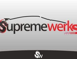 #61 dla Logo Design for Supreme Werks (eCommerce Automotive Store) przez thomasbill