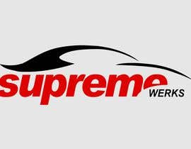 smarttaste tarafından Logo Design for Supreme Werks (eCommerce Automotive Store) için no 236