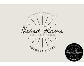 #36 para Design a Logo for Naked Flame Collection to Label Candle Votives -- 2 por yiama