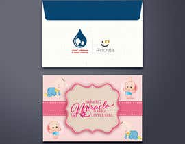 #7 for Envelope design (3 envelopes) for a maternity hospital gifts (PIcturate) by mamun313