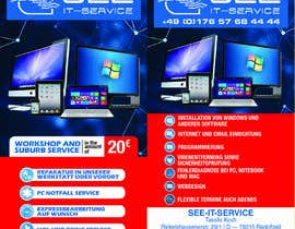 #15 for Flyer für IT Service by dsyro5552013