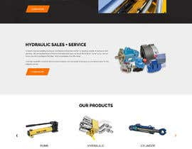 #18 for Website design for a company selling and service Hydraulic parts by yasirmehmood490