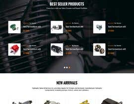 #3 for Website design for a company selling and service Hydraulic parts by webmastersud