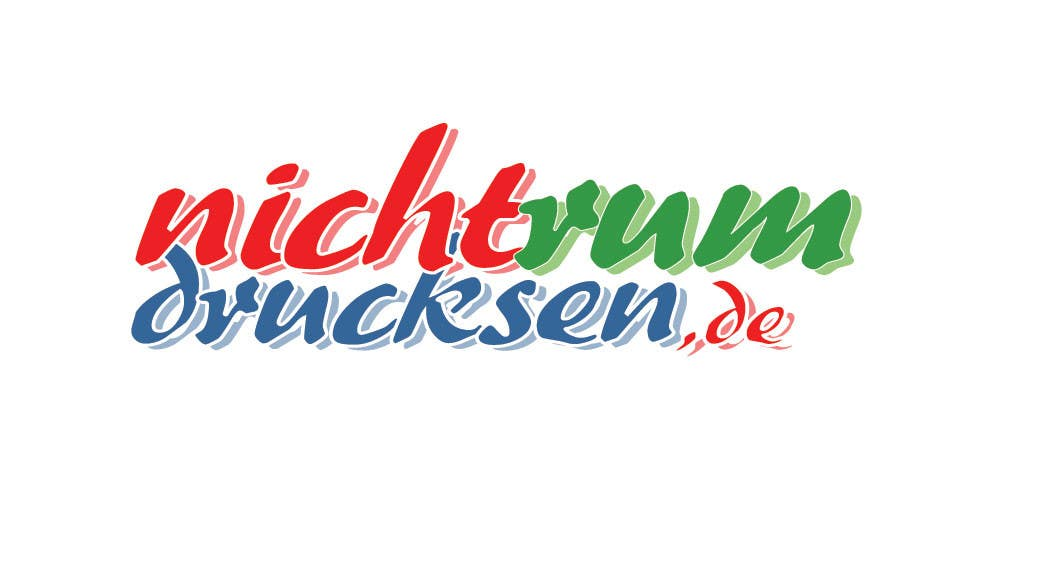 Konkurrenceindlæg #465 for Logo Design for nichtrumdrucksen.de