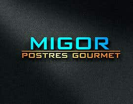 #48 for Logo for desserts , cakes, cupcakes, cookies etc- Migor, postres gourmet af asik01711