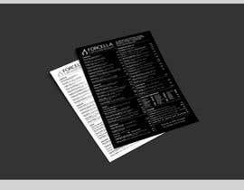 #61 untuk Restaurant Menu Design oleh znxked