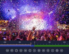 #16 untuk Design a mockup for a industrial camera control app oleh sudpixel