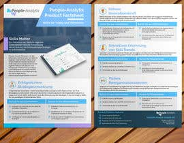 #14 for Design a Product Brochure/Factsheet by stylishwork