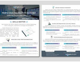 #17 for Design a Product Brochure/Factsheet by syedhoq85
