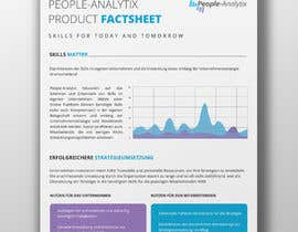 #7 for Design a Product Brochure/Factsheet by grshojol