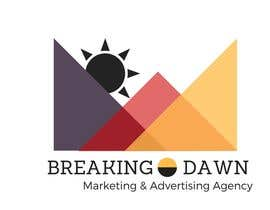 GirlieV tarafından I need a sleek, clean logo design for my marketing and advertising company, Breaking Dawn. Im open to different concepts and color schemes. için no 4