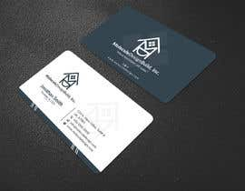#39 para 2 sided Business Card Layout & Logo por tamamallick