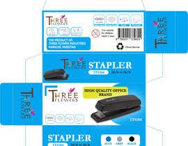 #25 for desktop stapler machine packaging box by nilow