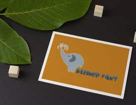 #60 for Illustrate cute logo with elephant for kids brand by MaestrosDelTrudo