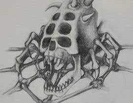 #61 for Illustrate a Skull with a Detail by RogueBulldog