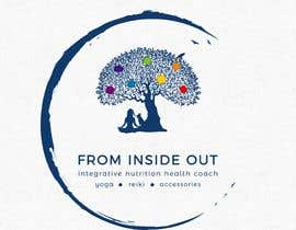 "#83 για I am starting a health coaching business with the slogan ""From Inside Out"".  I offer a holistic approach to health and realizing your health goals.  Market is the whole family. Other services private/group yoga classes and reiki healing services. από derdelic"
