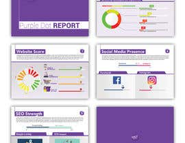"""#11 for Design a Brochure- """"Purple Dot Report"""" by pixelmanager"""