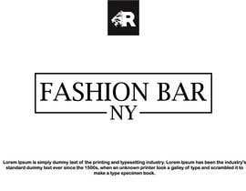 #12 for Logo for Fashion Bar NY by rva5a297e9f902a2