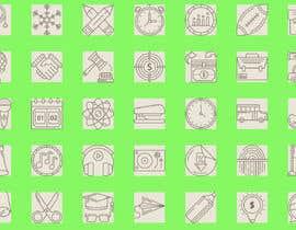 Nro 5 kilpailuun Create an icon set käyttäjältä rhu586c9ed66e5f9