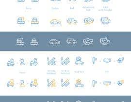 #7 untuk Create an icon set oleh MaxBugera