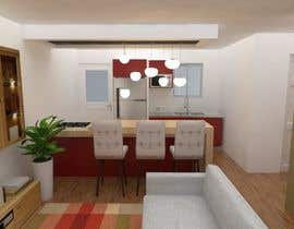 #44 for Redesign interior and exterior rendering in 3d by Ximena78m2
