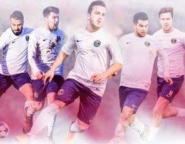 nº 43 pour EASY & SIMPLE:  one football image / banner / poster par youshohag799