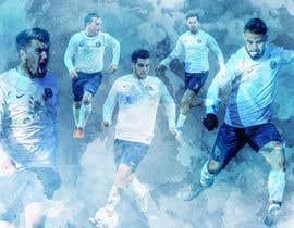 nº 21 pour EASY & SIMPLE:  one football image / banner / poster par akhilmohan07