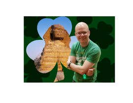 #15 for Urgent Need a logo with a combination of Paul and the Sphinx, please include a small shamrock and green in design. by Yying